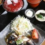 秋茄子の肉味噌炒め