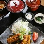 秋刀魚フライ香味ソース